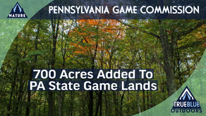 700 Acres Added to Pennsylvania State Game Lands