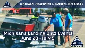 Michigan's Landing Blitz Events Raising Awareness of Aquatic Invasive Species