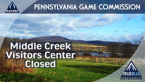 Middle Creek Visitors Center Closed
