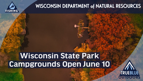 Wisconsin State Park Campgrounds Opening June 10