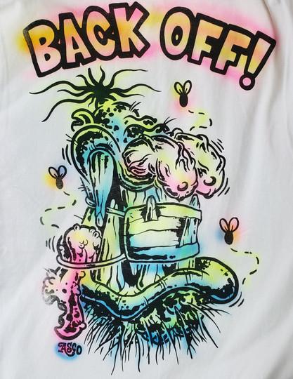 Back Off! (Color Variant #2)