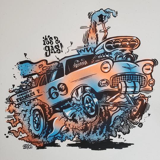 It's A Gas! (Color Variant #4)