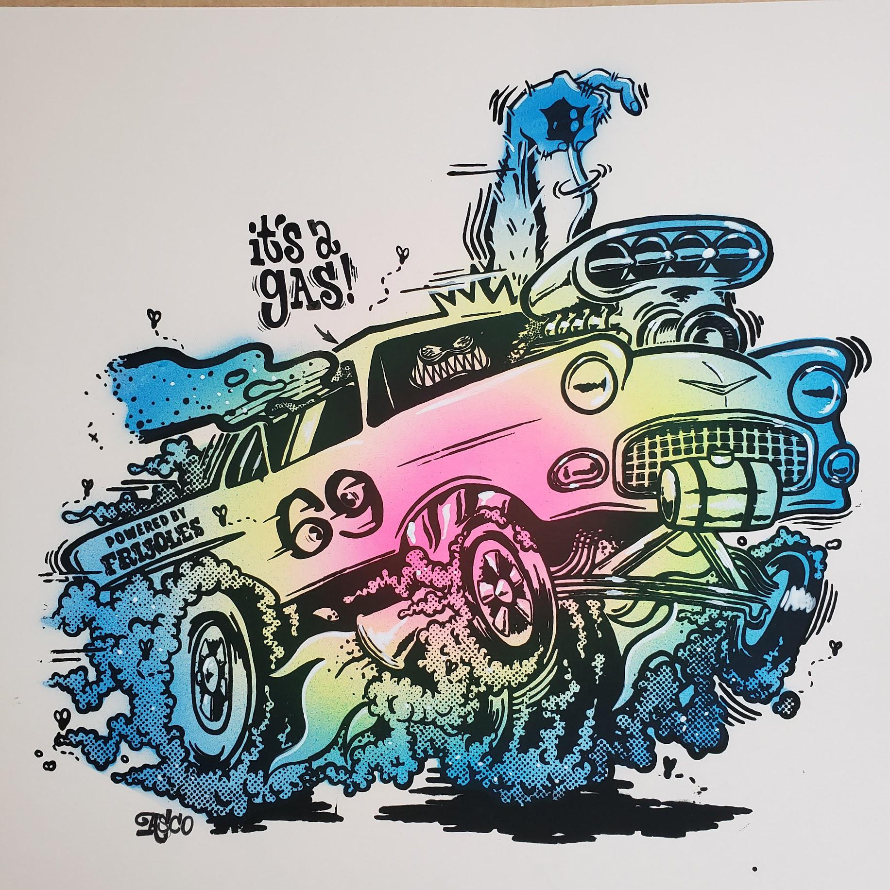 It's A Gas! (Color Variant #3)