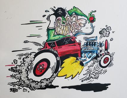 '32 Ford Deuce Fink #3