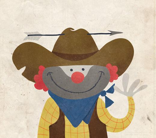 Clown Cowboy