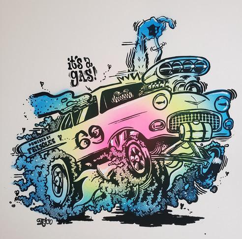 It's A Gas! (Color Variant #1)