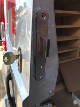 security on vans.