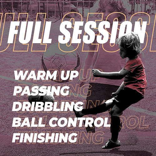 Full training package (includes 22 football exercises of all our categories)
