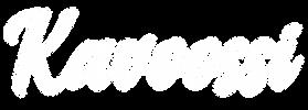 kavoossi cursive logo transparent white.