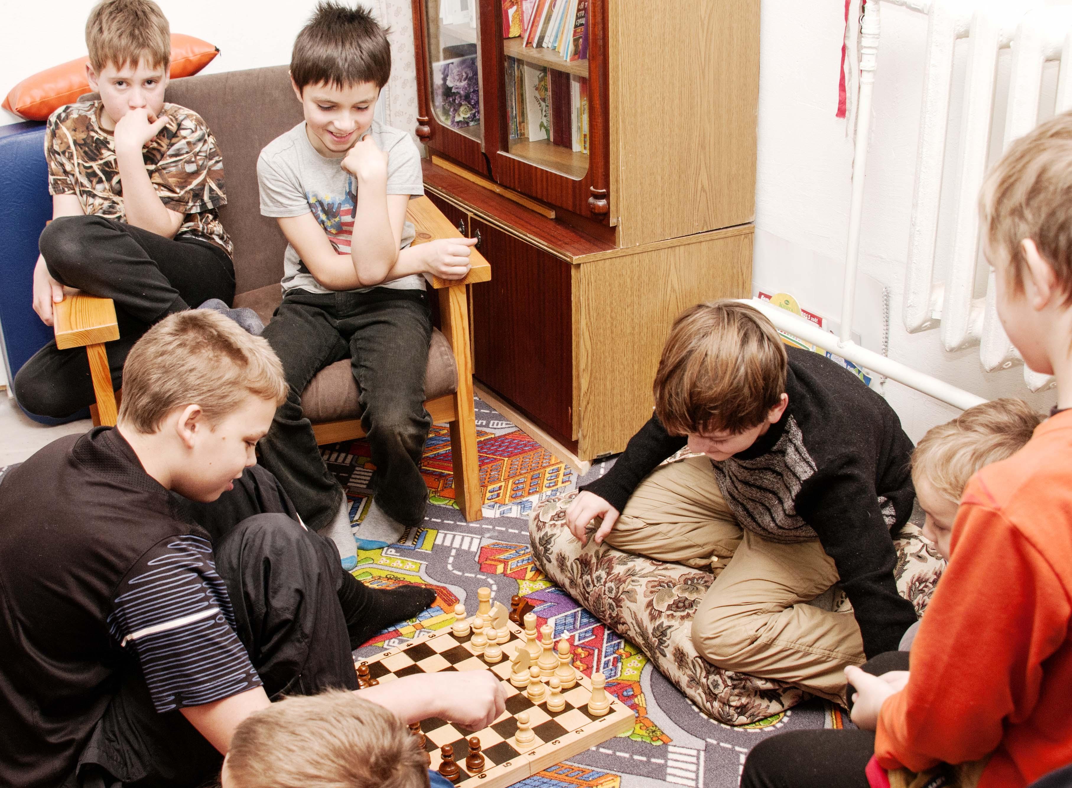 Шахматный турнир.