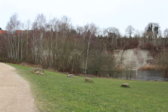 Spaziergang Kreidebergsee