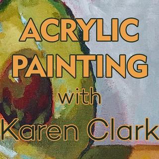 Acrylic Painting with Karen Clark