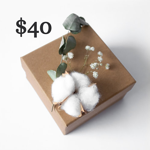Gift Certificate [$40]