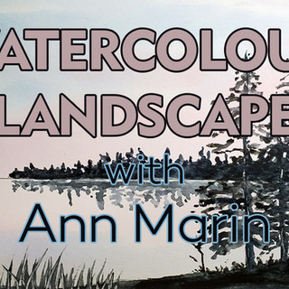 Watercolour Landscape with Ann Marin
