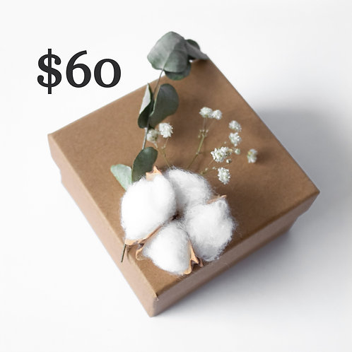 Gift Certificate [$60]