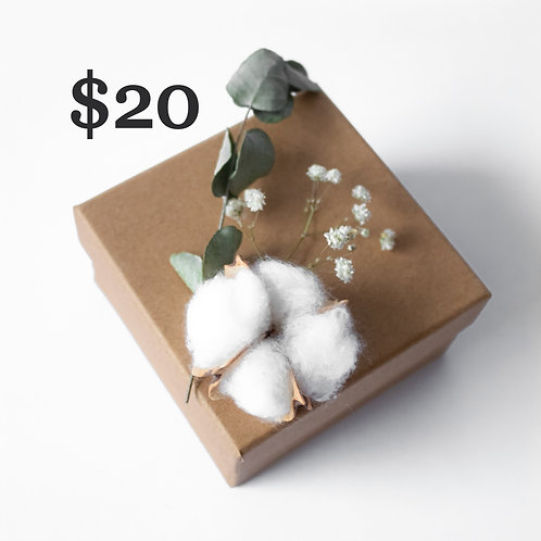 Gift Certificate [$20]