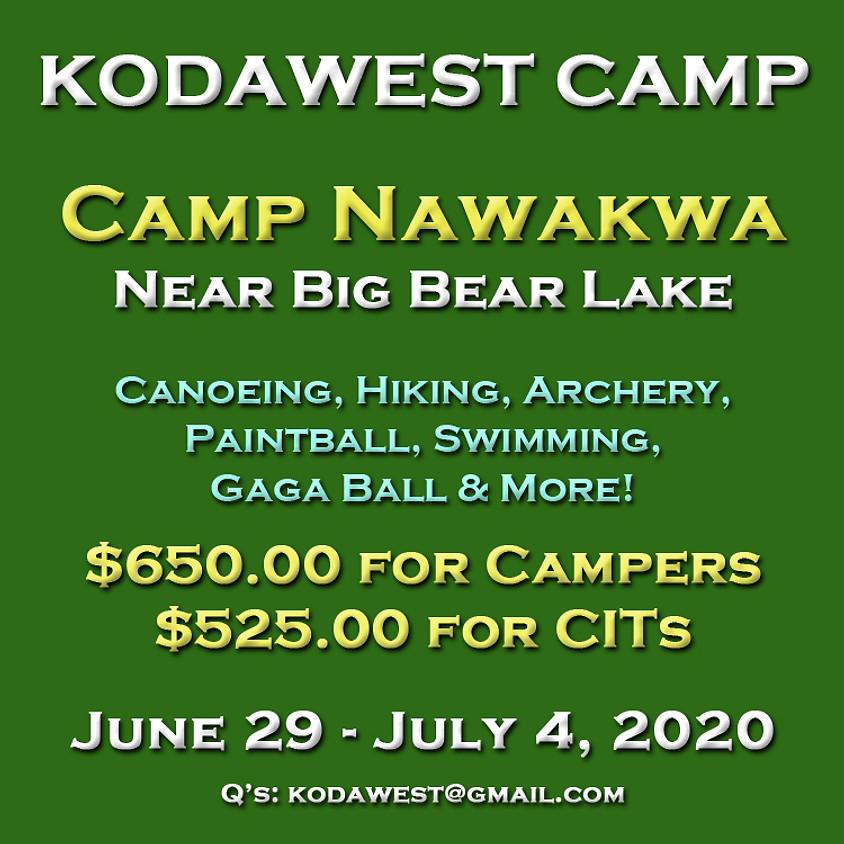 KODAWest Camp 2020