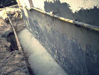 איטום קירות תת קרקעיים