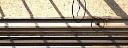 איטום של מסילת חלון