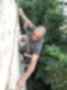 איטום קירות חיצוניים בסנפלינג
