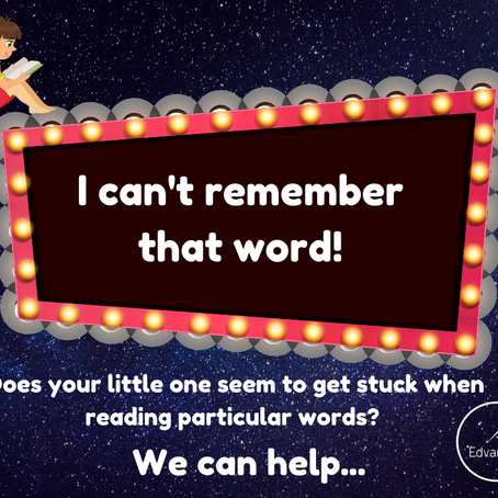I can't remember that word!