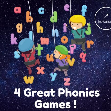 4 Great Phonics Games!