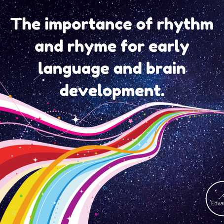 The importance of rhythm and rhyme for early language and brain development.