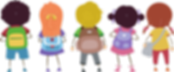 children in row with rucsacks.png