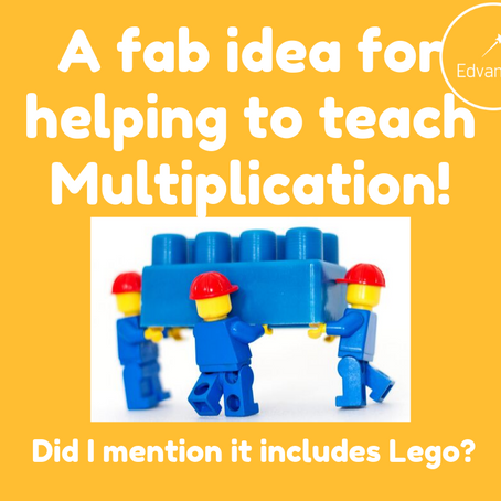 A Fab Idea For Helping To Teach Multiplication!
