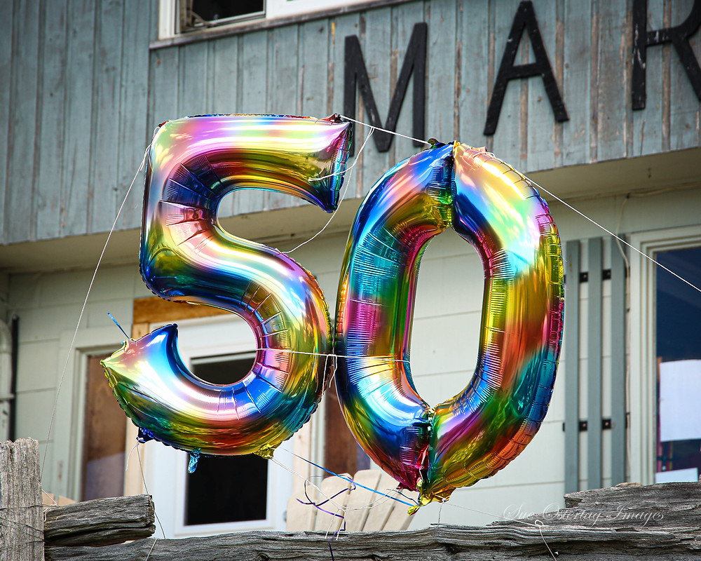 We've been very luck to have had 50 years in business and even luckier to have celebrated it with so many of our dear friends we have made during those years.