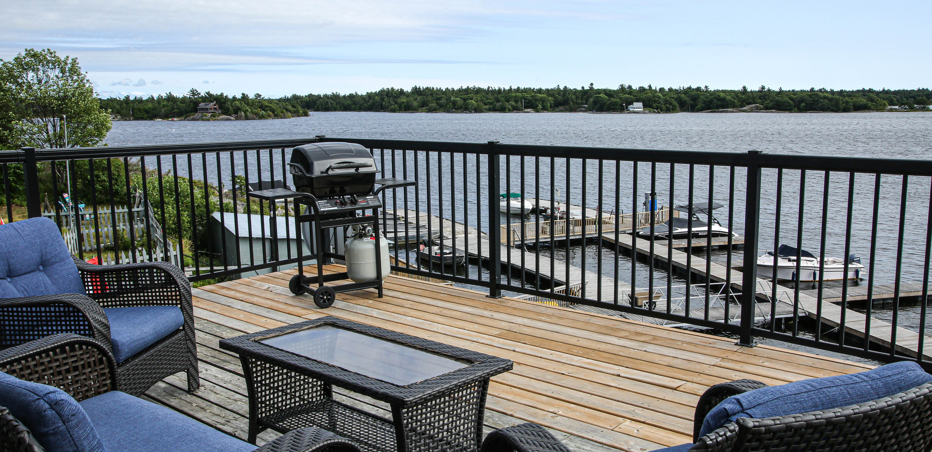 view from deck of 3 bedroom