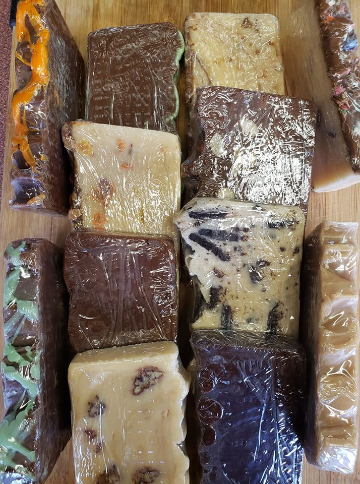For that sweet tooth pop by and grab a piece of fudge