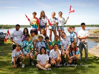 CHILDREN'S INTERNATIONAL SUMMER VILLAGES.        We were excited to house these amazing kids. .