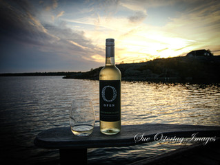 EVENING, SUNSET, COMFY CHAIR, & WINE, Makes a for fantastic evening on our dock. The sunsets hav