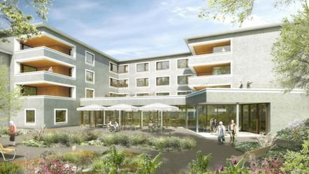 """Zentrum für Pflege und Betreuung """"Luegeten"""" in Menzingen – Es wird gebaut"""