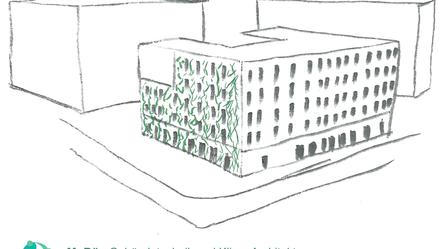Fassadenbegrünung - Einfluss auf das Innenraumklima