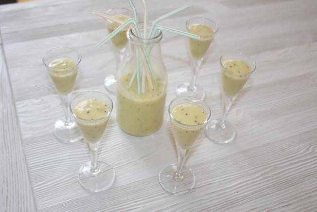 Smoothie banane - kiwi