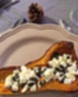 Butternut rôti à la féta