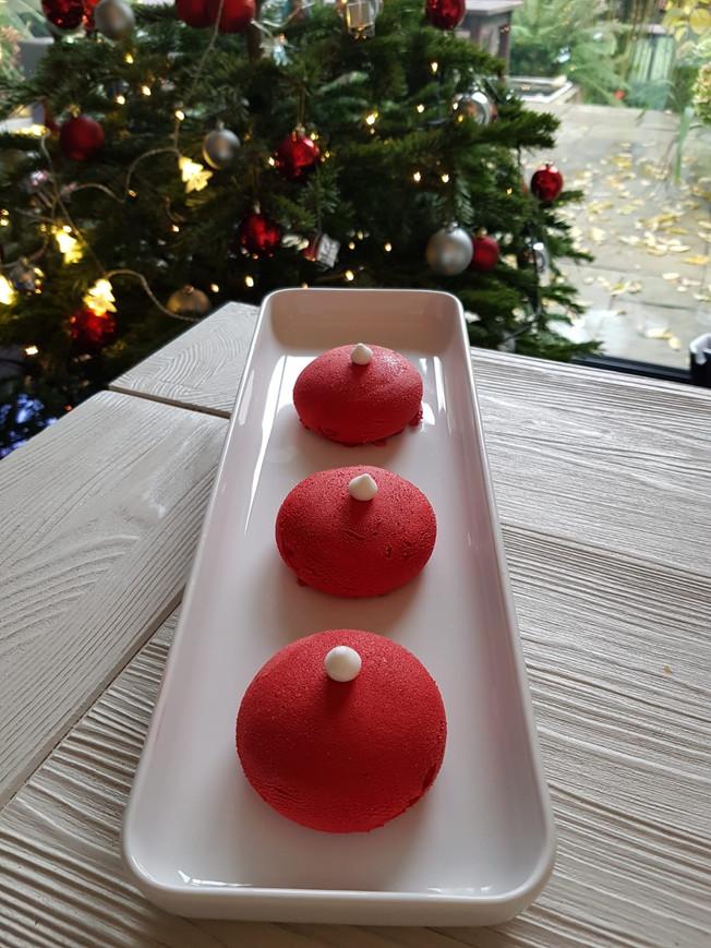 Minis boules de Noël