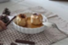 pommes cuites au carambar