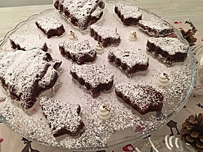 Forêt de brownie