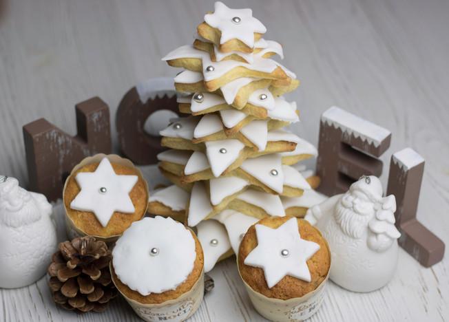 Sablés étoiles de Noël