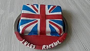 Gâteau Union Jack