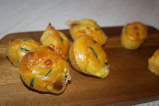Bouchées fromage courgettes