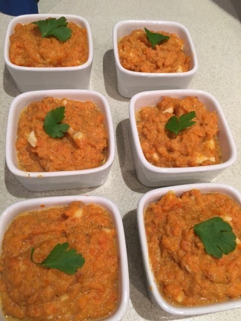 Petits flans de carottes