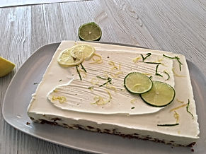 Cheese cake aux 2 citrons