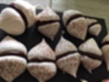 Mini meringues ganache chocolat