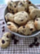 Cookies chocolat blanc -cranberries