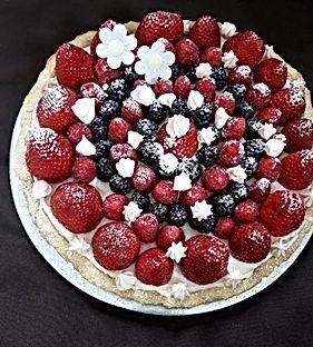 tarte mascarpone fruits rouges