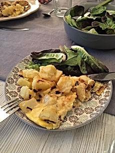 Tortilla pommes de terre, oignon